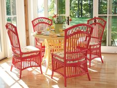 Daisy Dining Chair from Maine Cottage Furniture. Iron Furniture, Wicker Furniture, Painted Furniture, Outdoor Furniture Sets, Maine Cottage Furniture, Coral Home Decor, Dining Table Chairs, Dining Set, Dining Rooms