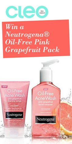 Win #Neutrogena Pink #Grapefruit #Facial #Products! #skincare #competition