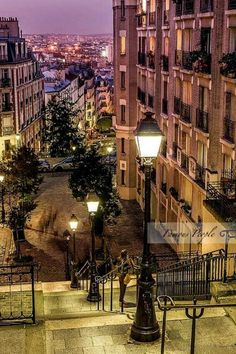 Montmartre , Paris , France, from Iryna