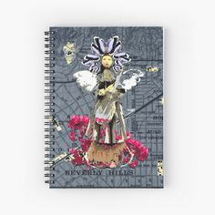 City Of Angels, My Notebook, Fashion Room, Vintage Designs, Spiral, My Arts, Tapestry, Art Prints, Printed