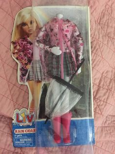 Liv Real Girls Real life Rain Gear with Accessories in  | eBay!