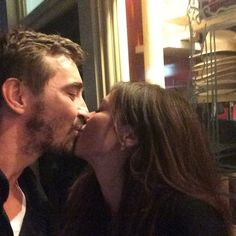 PUSHING DAISIES Reunion! Lee Pace & Anna Friel Visit Richard Armitage At THE CRUCIBLE