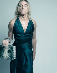Iggy Pop - Lady Dior seen by: Mikael Jansson :))))))))))))))))))))))))))