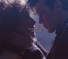 """""""You are always here to me."""" And this was when the tears started to flow."""
