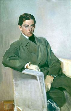 Joaquín Sorolla Bastida (Spain, 1863 - 1923). Self portrait, 1917. Museo Sorolla, Madrid, Spain.