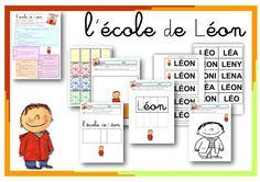 Fiches l'école de Léon Virginia, Grande Section, Ms Gs, Montessori, Literacy, Ps, Albums, Bouquet, School