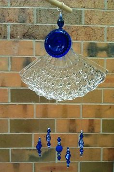 UpCycled Wind Chimes from Vintage Glass and Silverware. $50.00, via Etsy.