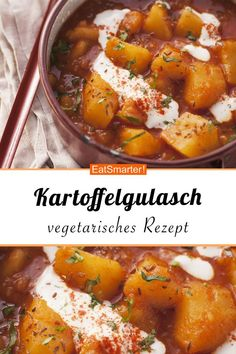 Kartoffelgulasch Kartoffelgulasch Ladina ladiina f o o d d r i n k s Kartoffelgulasch smarter Kalorien 255 kcal Zeit 30 Min eatsmarter de gulasch kartoffeln vegetarisch Ladina hellip Goulash, Veggie Recipes, Vegetarian Recipes, Healthy Recipes, Veggie Food, Cooking Recipes, Big Mc, Healthy Eating Tips, Clean Eating