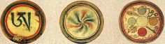 dzogchen symbols A five elements