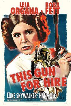 Fantastic STAR WARS Noir Poster ArtSeries - News - GeekTyrant