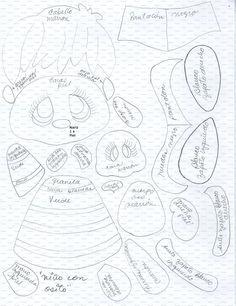 molde niño con oso