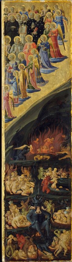 Sandro Botticelli - Das Jüngste Gericht (Flügelaltar, rechte Tafel)