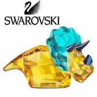 "Swarovski Colored Crystal Figurine LovLots ROLLY MONKEY #1086116 Size: 1.35"" New…"