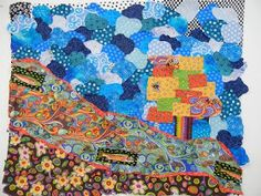 There is nothing like a new adventure with my dear friend Sue to rejuvenate my creative soul! Contemporary Quilts, My Dear Friend, Embroidery Applique, Creative, Crafts, Painting, Art, Art Background, Manualidades