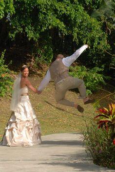 Great wedding shot - Happy Husband!