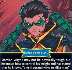 //uhh I'd say he's p tough but yeah Comic Book Characters, Comic Character, Comic Books, Robin Comics, Marvel Dc Comics, Batman Universe, Comics Universe, Marvel Facts, Batman Facts