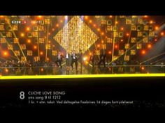 Denmark's song for 2014 is Cliche Love Song sung by Basim. Eurovision 2014, O 8, Love Songs, Denmark, Norway, Singing, Europe, My Love, World