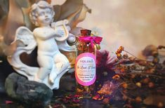 magick bottle for love spells, aphrodisiac, lover passion, valentine's day, frankincense, cocoa and aromatic flowers Ad Libs, Ancient Recipes, Body Oils, Love Spells, Lavender Flowers, Magick, Pagan, Spelling, Whiskey Bottle