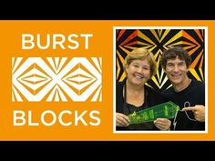 Make an Easy Burst Block Quilt with Jenny More