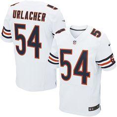 Men's Nike Chicago Bears Brian Urlacher Elite White Jersey