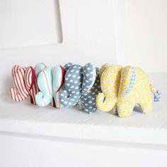 Bon weekend !!  #elephant #couture #doudou #sewing #famille #peluche #lesenchantees #cousette #handmade #madeinfrance #faitmain