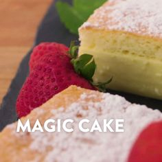 Magic Cake - Food & Drink The Most Delicious Desserts – Culture Trip Magic Cake Recipes, Sponge Cake Recipes, Cheesecake Recipes, Sweet Recipes, Dessert Recipes, Dessert Bowls, Yummy Recipes, Just Desserts, Delicious Desserts