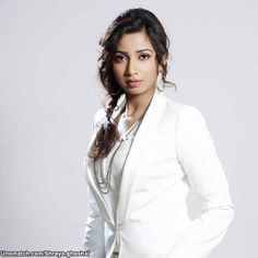 Shreya Ghoshal (Bengali: শ্রেয়া ঘোষাল, born 12 March 1984) is an Indian playback singer who mainly sings in Hindi (715 songs), Kannada (178 songs), Telugu (147 songs), Tamil (165 songs), Bengali (120 songs), and Malayalam (47 songs) films as well as in other Indian languages such as Assamese, Gujarati, Marathi, Oriya, and Punjabi. like : http://www.Unomatch.com/Shreya-ghoshal/