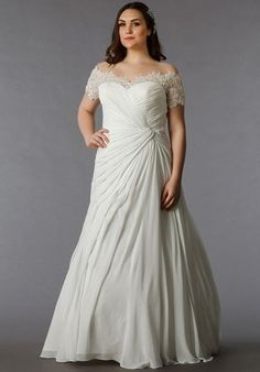 Get custom plus size wedding dresses and #replicas of haute couture designs for less here!