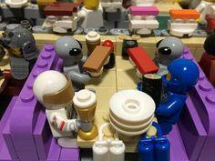 Nerdy LEGO Sushi Restaurant With Working Conveyor Belt