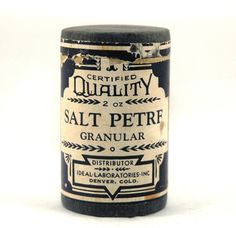 Vintage Salt Packaging