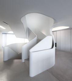 OLS House in Stuttgart   Stairs   admagazine