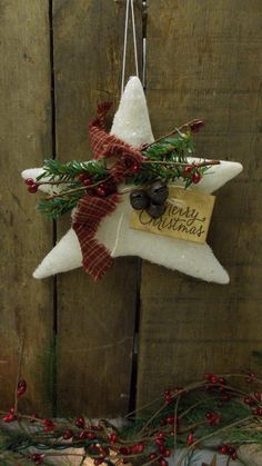 primitive star christmas ornament sparkly by handmadewithheartcr primitive christmas crafts primitive stars christmas ornament - Primitive Christmas Crafts
