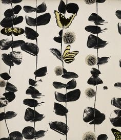 Columbia Road - Mustard - Artisanal Wallpaper from The Wallpaper Collective