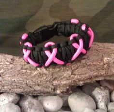 This looks like a cool bracelet. with purple ribbons. it would be awesome :)
