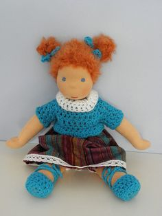 Waldorf doll  Natali  11 by LeluszkaWaldorfDoll on Etsy