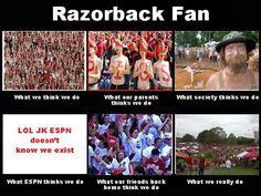 Razorback fans!!