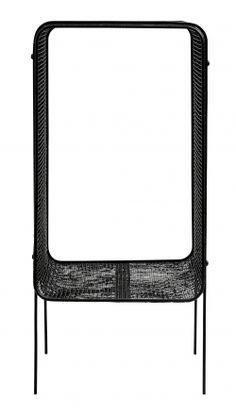 Iron side table, high, black | Nordal.eu