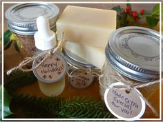 simple homemade holiday gift ideas