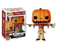 Nightmare Before Christmas POP! Vinyl Figur Jack the Pumpkin King 10 cm
