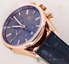 TAG Heuer Carrera 1887 Rose Gold & Anthracite