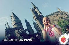 #HarryPotter es un #momentoEnjoy15