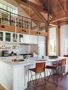 Loft over kitchen