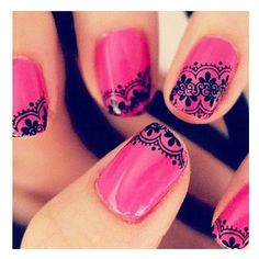 Nail Art ❤ liked on Polyvore