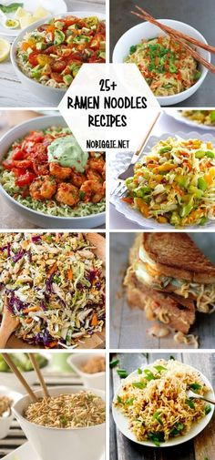 25+ Ramen Noodles Recipes | http://NoBiggie.net