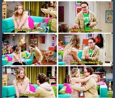 """The Big Bang theory- it's about time! Third times a charm! """"I want you you stupid pop tart! Big Bang Theory Funny, The Big Theory, Best Tv Shows, Favorite Tv Shows, Movies Showing, Movies And Tv Shows, Leonard And Penny, I Love Series, Tv Quotes"""