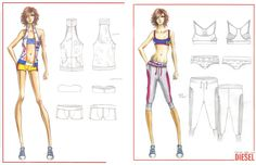 Design & Illustration by Cathy Suh for DIESEL | Otis Fashion