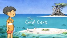 The Coral Cave (Part by Atelier Sentô, via Behance Adventure World, Adventure Game, Cave Story, Cave Game, Bad Dreams, Indie Games, Girls Life, Japanese Girl, Game Art