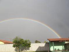 Camping Recanto do Sol Brilhante: Cantina do Camping e um belo arco-íris!