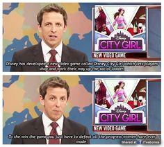 """SNL Weekend Update """"City Girl"""" bit"""