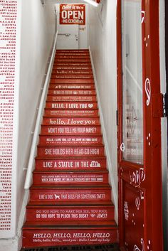 want to do something similar with the stairs.